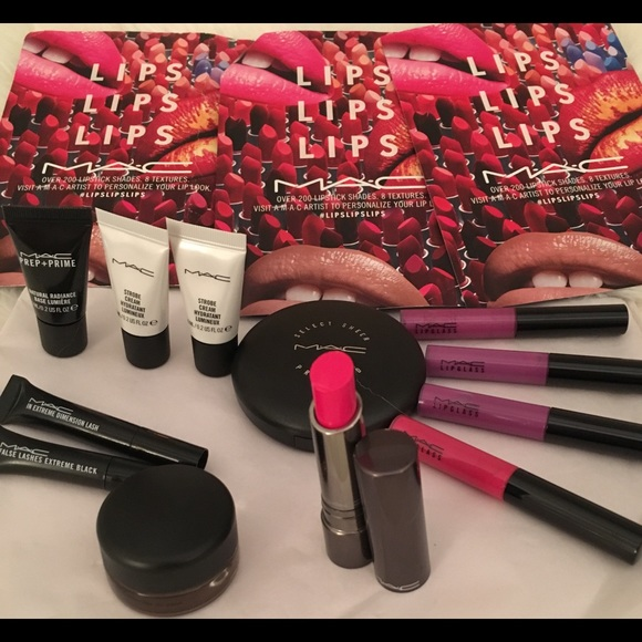 MAC collection & some free samples  NWT